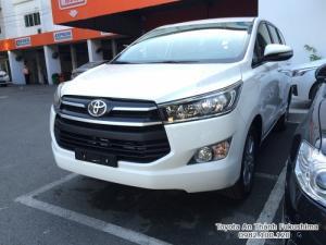 Khuyến mãi cực hot, Toyota Innova 2017 Số Sàn màu trắng, Mua Trả Góp chỉ cần 250tr là sở hữu ngay!