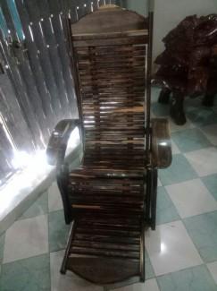 Ghế dựa thư giãn (gỗ cẩm lai 100%)