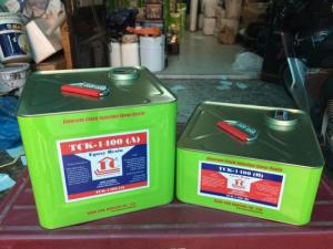 Chống thấm bể xử lý nước thải bằng epoxy TCK 1400 và vải thủy tinh tốt nhất hiện nay