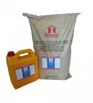 Chất chống thấm gốc xi măng tc top seal 107 cho sàn mái, tường, bể nước, hồ nước, sân thượng...