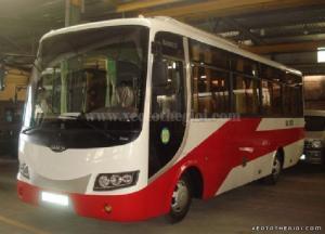 Xe khách Samco 29 chỗ 5.2 mẫu mới 2016 Giao Xe Toàn Quốc