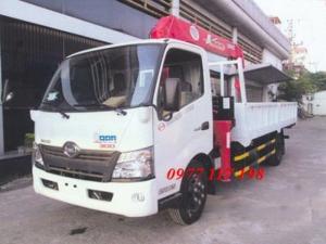 Xe tải Hino XZU730 gắn cẩu Unic 3 tấn 5 đốt...