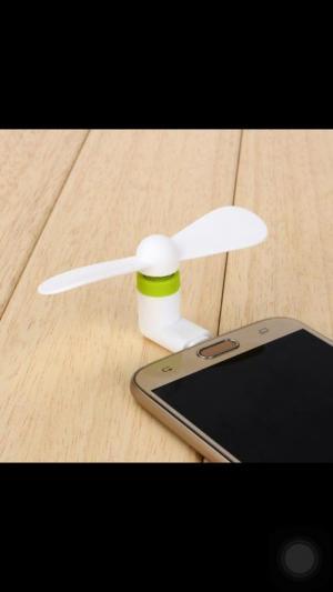 Quạt 2 Cánh Rời Dành Cho Samsung.Oppo.. Chân Micro usb For Android