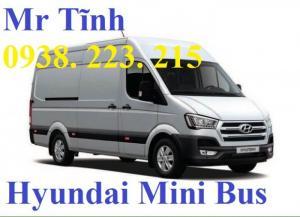 Xe 16 chỗ hyundai h350 mini bus thaco, xe 16 chỗ hyundai solati h350 thaco trường hải