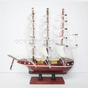 Mô hình thuyền cẩm 30cm(Gỗ Tự Nhiên)