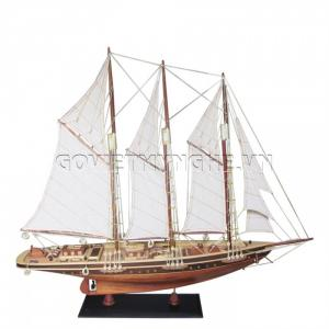 Mô Hình Du Thuyền Atlantic 80cm (Gỗ Tự Nhiên)