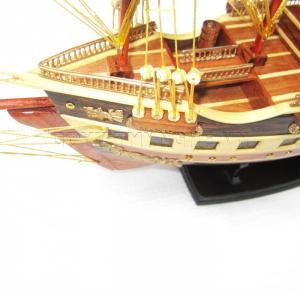 - Mô Hình Thuyền Gỗ Chở Hàng France II 40cm (Loại 1). Dài 57 x Rộng 16 x Cao 42 (cm), Giá 670.000đ.