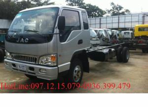 Xe tải JAC 3.45 - 4.9 tấn, khuyến mại lớn mùa...
