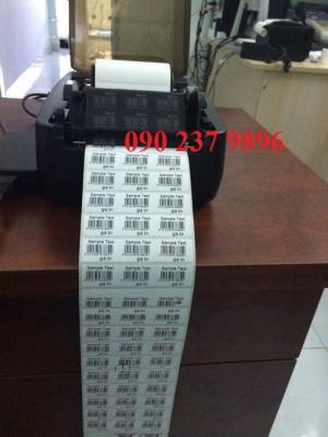 Bán máy in tem mã vạch, giấy in tem giá rẻ