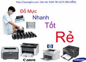 Dịch vụ bơm mực máy in