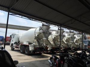 Xe bồn trộn bê tông SHACMAN 10m3 mua ngay ưu đãi từng ngày