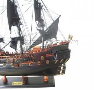 - Mô Hình Thuyền Cướp Biển Black Pearl 55cm (Gỗ), Dài 64 x Rộng 21 x Cao 55 (cm), Giá 1.870.000₫.