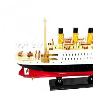 Mô hình thuyền Titanic sơn 40cm(Gỗ Tự Nhiên)