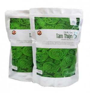Trà lá sen sấy khô nguyên chất không có chất bảo quản.