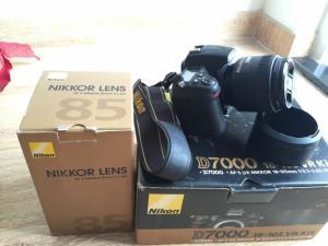 Bán gấp Nikon D7000 hàng VIC + Len Nikor 85mm...