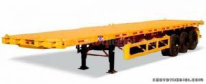 Thông tin cần bán gấp Sơ mi Rơ mooc sàn CIMC 3 trục 40 feet mẫu mới 100%