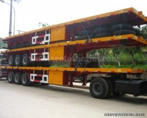 Rơ mooc sàn  3 trục 40 feet CIMC, giá tốt nhất miền Nam, giao hàng toàn Quốc