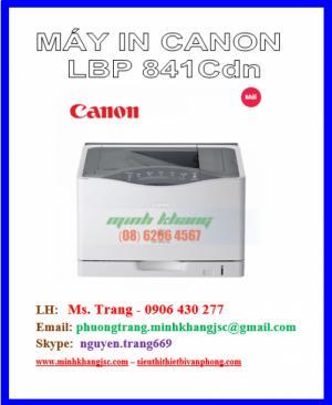 Máy in màu Canon 841Cdn in mạng giấy A3 giá cực tốt