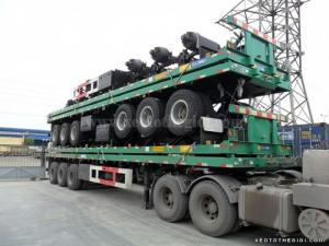 Sơ mi rơ mooc CIMC 32 tấn 40 feet 3 trục 2016, giá rẻ chính hãng giao ngay