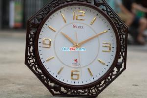 Đồng hồ treo tuờng 21 sang trọng in ấn quảng cáo theo yêu cầu giá tốt