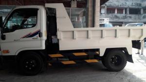 Xe Tải Ben Hyundai 1,750 Tấn Chạy Trong Thành Phố