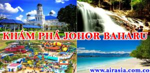 Săn vé máy bay giá rẻ đi Johor Bahru