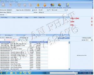 Bộ Máy tinh Phần mềm bán hàng cho tạp hóa giá rẻ