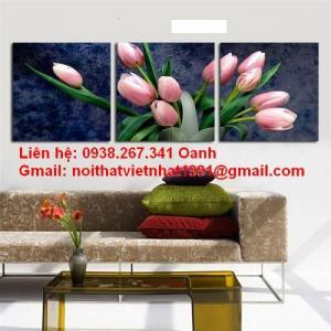 Bộ tranh hoa tuilip 3 bức - TT02