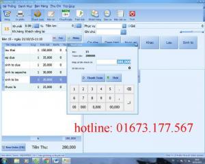 Bán Phần mềm bán hàng cảm ứng chuyên nghiệp