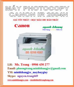 Máy photocopy Canon 2004N kêt nối mạng, wifi hiệu suất cao giá cực rẻ