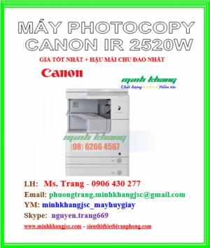 Máy photocopy Canon 2520w hiệu năng cao giá cực rẻ