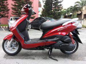 Yamaha Flame 125cc ( Dylan Con)  tuyệt đẹp nguyên zin 100%,xe nhập khẩu của Nhật