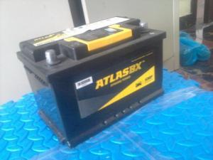 Ác quy Atlas 68Ah Và TIGER 100Ah của Thái lan 95%