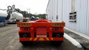 Bán Sơ mi rơ mooc sàn chở container DOOSUNG 40 feet, 3 trục giao xe ngay