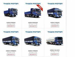 Bán xe tải nặng, ben nặng đầu kéo nhập khẩu giá tốt