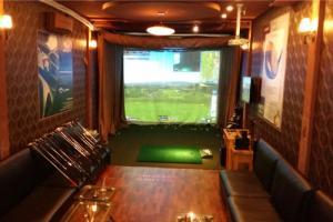 Tư vấn thiêt kế làm phòng tập golf 3D