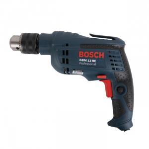 máy khoan,bắn vít bosch GBM 13 RE Hãng sản xuất: Bosch Loại máy khoan: Khoan sắt gỗ, siết mở vít dùng điện Chức năng: Khoan, đục bê tông, Khoan gỗ, Khoan kim loại, Điều tốc vô cấp Tốc độ không tải (vòng/phút): 2600 Tốc độ va đập (lần/phút): 0 Công suất (W): 600 Xuất xứ: Malaysia