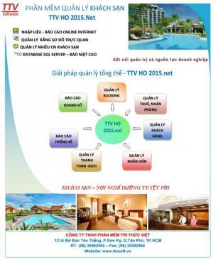 Phần mềm kế toán quản lý nhà hàng khách sạn TTV _Hotel Manager