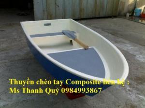 Thuyền Composite chèo Tay 3-5 Người