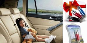 Máy lọc không khí mini lonkini, khử mùi ô tô hiệu quả nhất - MSN181062