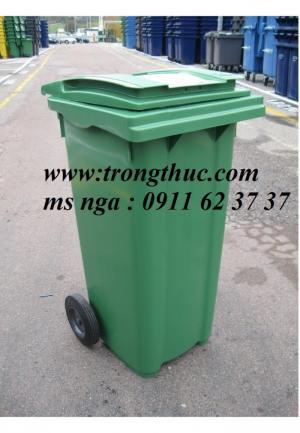 Bán thùng rác môi trường 660 lít, con thú tại đà nẵng