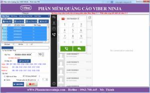 Phần mềm gửi sms miễn phí, phần mềm gửi sms viber - Viber Ninja