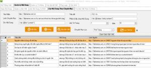 Phần mềm Seo Ninja - Phần mềm đăng bài tự động lên Blog, Wordpress