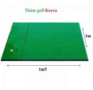 Thảm tập golf Swing cao cấp nhập từ Korea