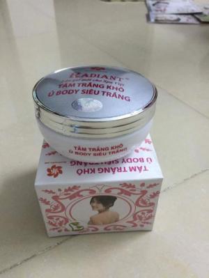 Tắm trắng khô radiant (ủ body)