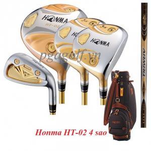 Gậy golf chính hãng Honma HT-02 4sao giá mềm gậy tốt