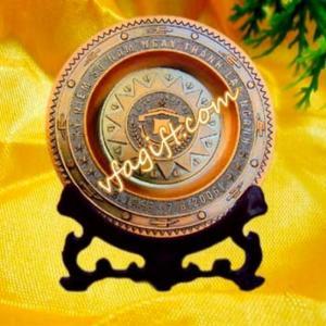 Nơi làm đĩa đồng, sản xuất đĩa đồng khảo cổ, đĩa đồng giả cổ đẹp