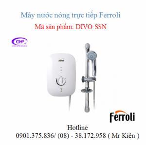 Máy nước nóng trực tiếp Ferroli Divo SSN