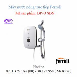 Máy nước nóng trực tiếp Ferroli Divo SDN