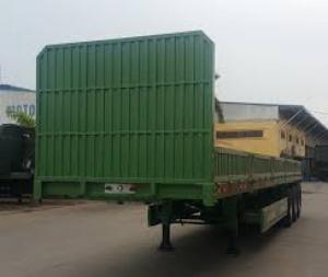 Gía Sơ mi rơ mooc sàn rút Doosung tải trọng 32 tấn ở Miền Nam